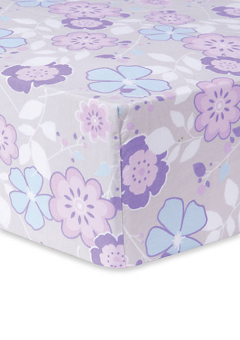 Trend Lab® Grace Floral Fitted Crib Sheet