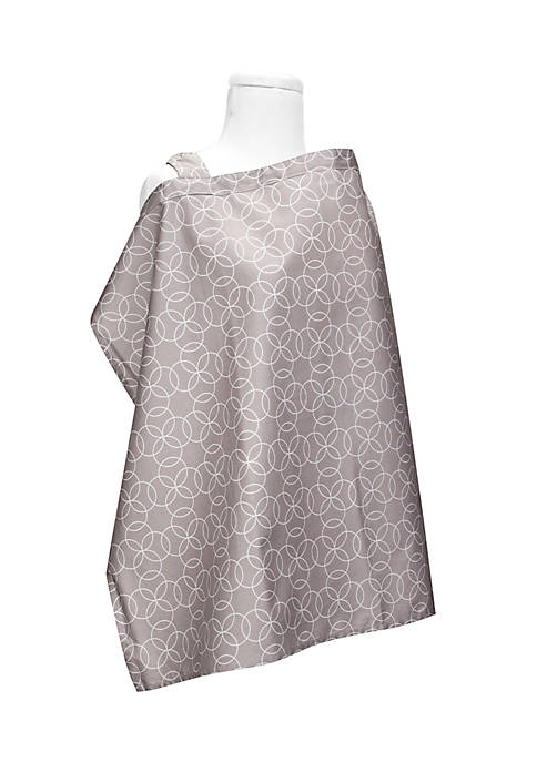 Trend Lab® Circles Gray Nursing Cover