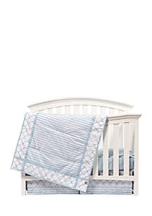 Playful Pattern 3-Piece Crib Bedding Set