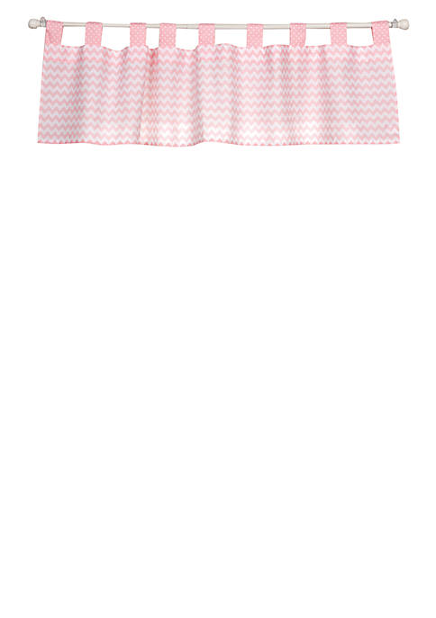 Trend Lab® Pink Sky Window Valance