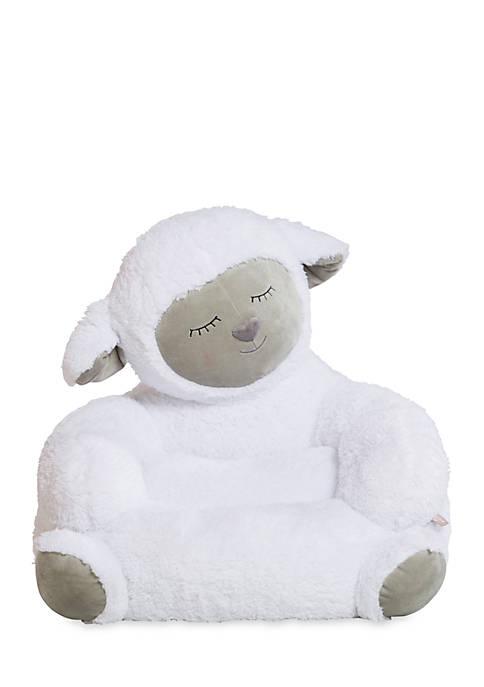 Lamb Childrens Plush Character Chair