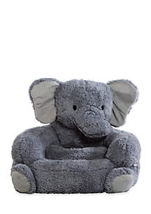 Elephant Children's Plush Character Chair