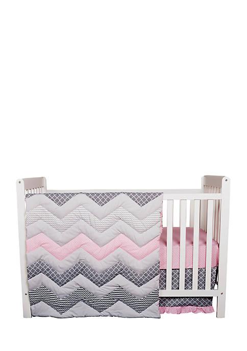 Trend Lab® Chevron 3-Piece Crib Bedding Set