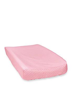 Polka-Dot Changing Pad Cover