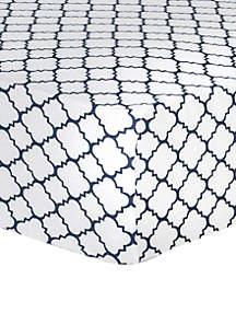 Quatrefoil Fitted Crib Sheet