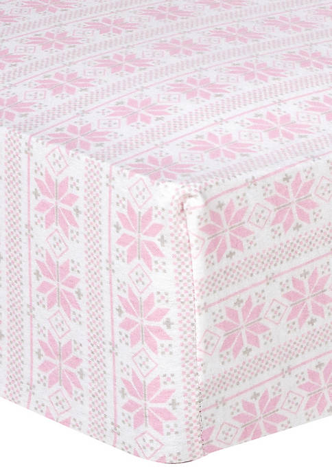 Playful Prints Fitted Crib Sheet