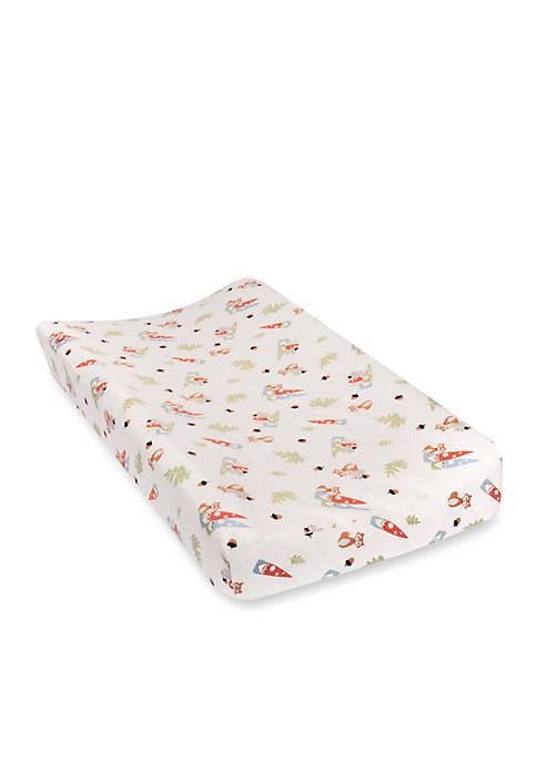 Trend Lab® Forest Friends Deluxe Flannel Changing Pad