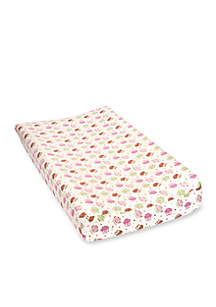 Forest Friends Deluxe Flannel Changing Pad Cover