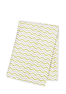 Chevron Deluxe Flannel Swaddle Blanket