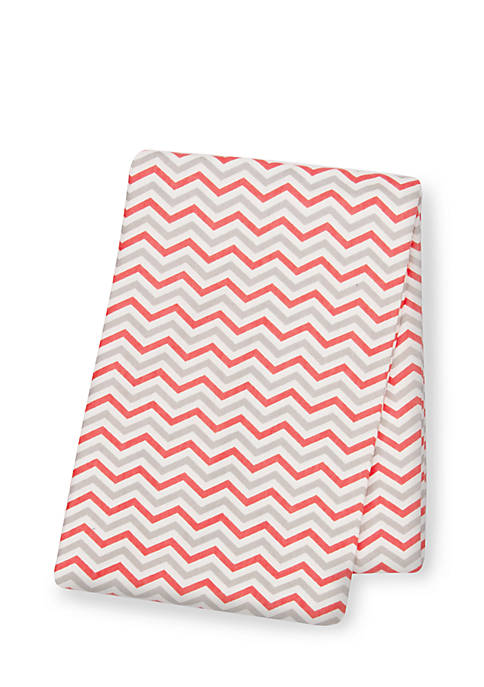 Trend Lab® Chevron Deluxe Flannel Swaddle Blanket