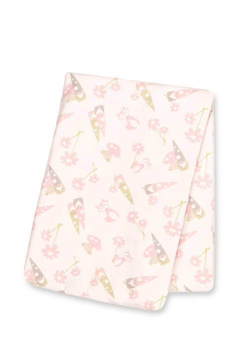 Trend Lab® Playful Prints Deluxe Flannel Swaddle Blanket