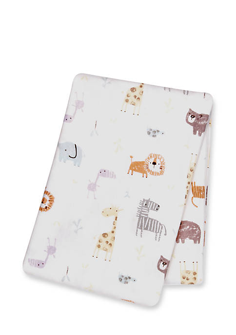 Trend Lab® Crayon Jungle Deluxe Flannel Swaddle Blanket