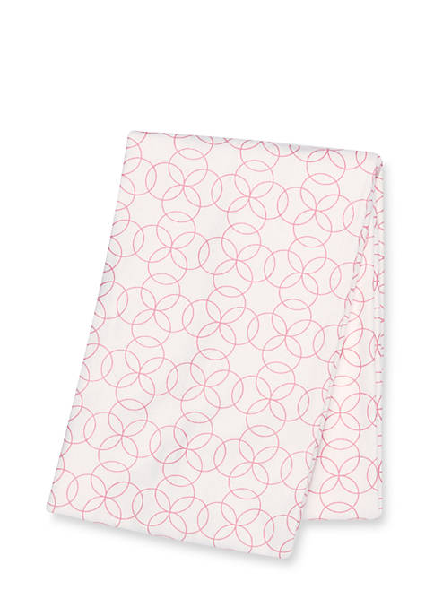 Trend Lab® Circles Deluxe Flannel Swaddle Blanket