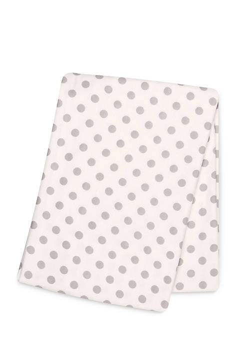 Playful Prints Deluxe Flannel Swaddle Blanket