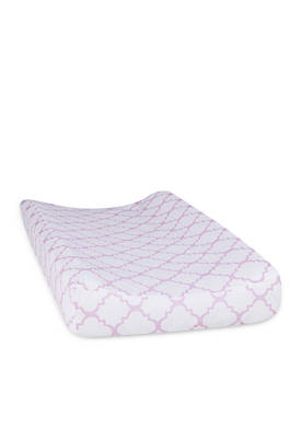 Quatrefoil Changing Pad Cover