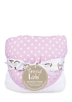 Playful Patterns Hooded Towel