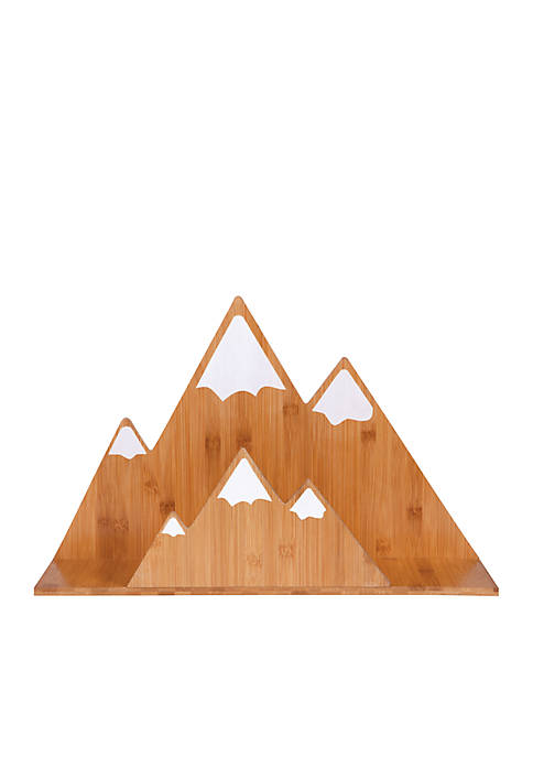 Bamboo Mountain Wall Shelf