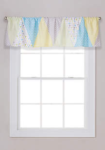 Trend Lab® Triangles Window Valance