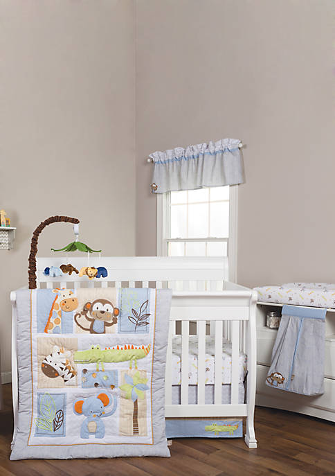 Trend Lab® Jungle Fun 6 Piece Crib Bedding