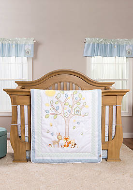 Forest Tales Six-Piece Crib Bedding Set