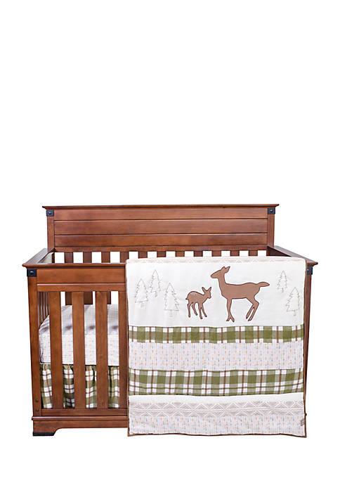 Trend Lab® Deer Lodge 3 Piece Crib Bedding