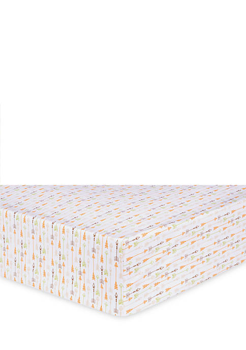 Trend Lab® Deer Lodge Fitted Crib Sheet