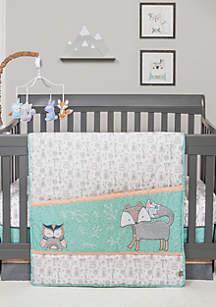 Sawyer 3 Piece Crib Bedding Set