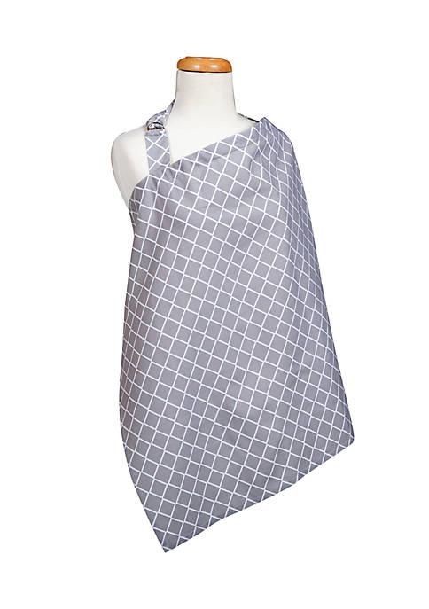 Trend Lab® Paloma Gray Diamond Nursing Cover