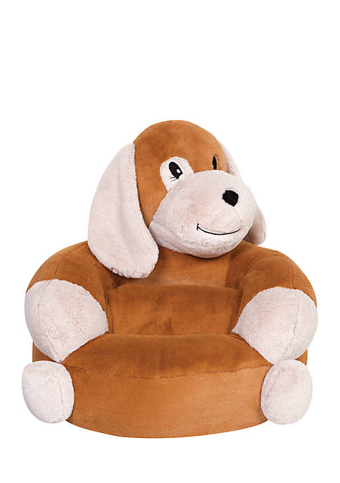 Childrens Plush Puppy Character Chair