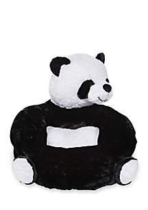 Children's Plush Panda Character Chair