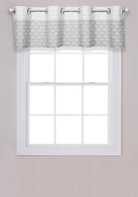 Art Deco Window Valance