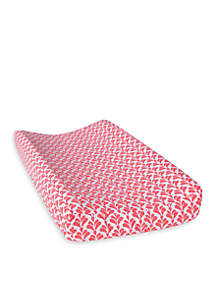 Trend Lab® Shell Floral Changing Pad Cover