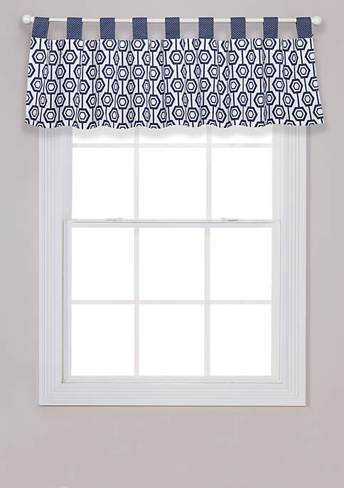 Trend Lab® Hexagon Window Valance