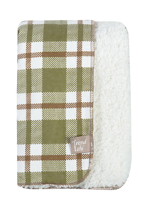Trend Lab® Deer Lodge Faux Shearing Blanket