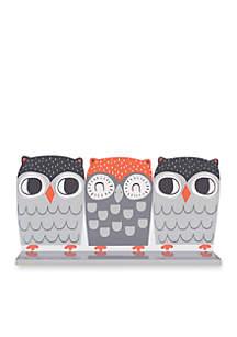 Olive Owl Wall Shelf