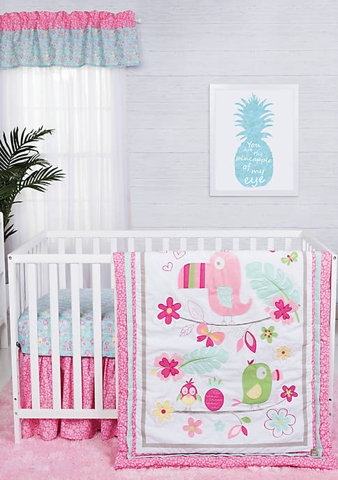 Trend Lab® Tropical Tweets Three-Piece Crib Bedding Set