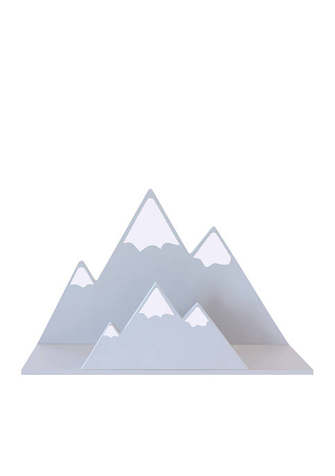 Gray Mountain Wall Shelf