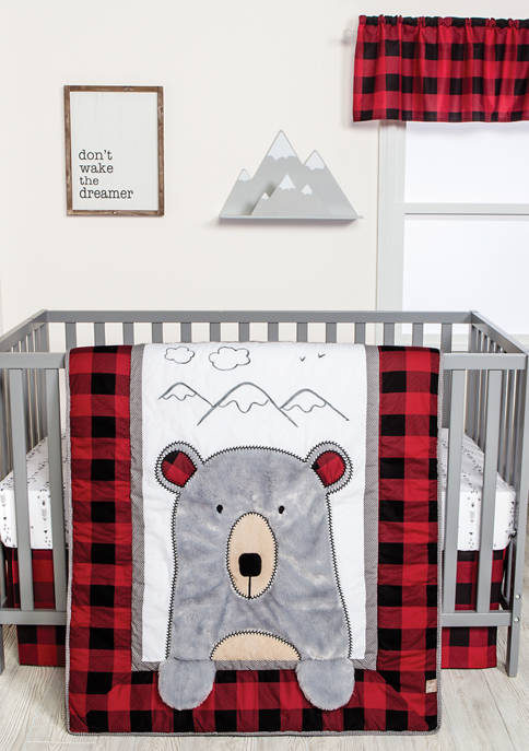 Trend Lab® 3 Piece Baby Peak-a-Bear Crib Bedding