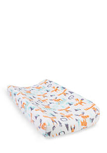 Trend Lab® Woodland Moose Plush Changing Pad Cover