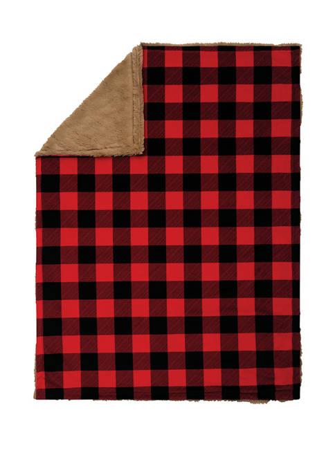 Baby Buffalo Check Plush Blanket