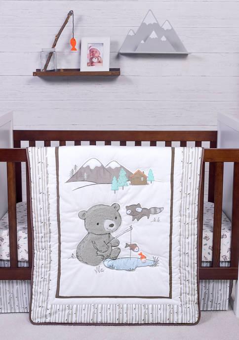 Trend Lab® Baby Gone Fishing 3 Piece Crib