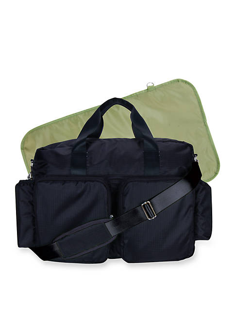 Trend Lab® Solid Deluxe Duffle Diaper Bag