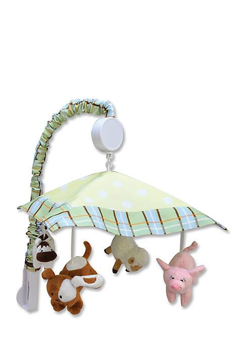 Trend Lab® Baby Barnyard Musical Crib Mobile