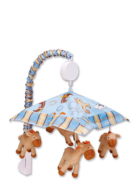 Trend Lab® Cowboy Baby Musical Crib Mobile
