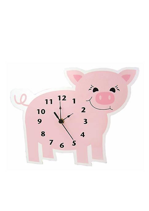 Trend Lab® Baby Barnyard Pig Wall Clock
