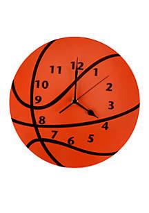 Little MVP Basketball Wall Clock