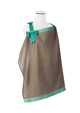 Ruffle and Bow Nursing Cover