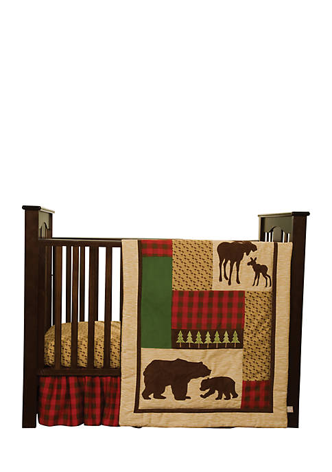 Trend Lab® Northwoods 3-Piece Crib Bedding Set