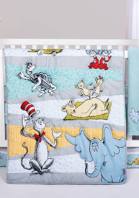 Dr. Seuss Baby Book Club 4 Piece Crib