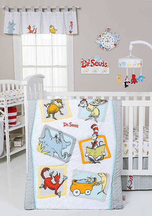 Trend Lab® Dr. Seuss Friends 5 Piece Crib
